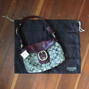 Brand New Small Coach Purse w/ Dust Jacket!